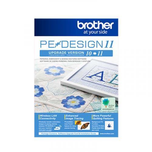 Uaktualnienie programu Brother PED 10 do PED 11