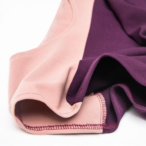 Wykrój na bluzkę damską typu kimono