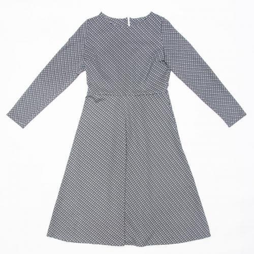Wykrój na klasyczną damską sukienkę