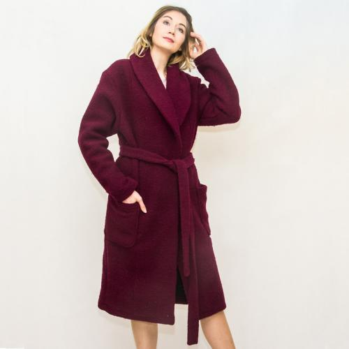 Wykrój na prosty płaszcz damski