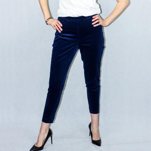 Wykrój na spodnie damskie typu cygaretki
