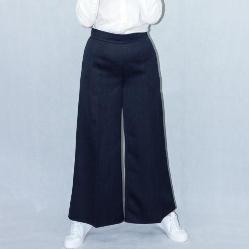 Wykrój na damskie spodnie z szerokimi nogawkami, fig. 5