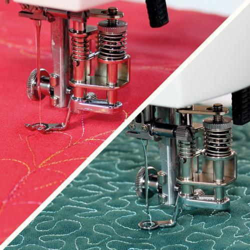 Zestaw do pikowania, haftowania i cerowania do Janome HD9 i 1600PQC