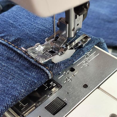 Stopka pływająca do szycia jeansu, zgrubień i szwów