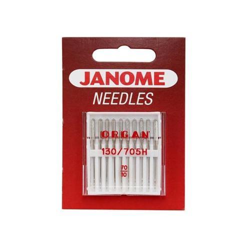 Igły do maszyn do szycia tkanin 130/705H JANOME (różne grubości)