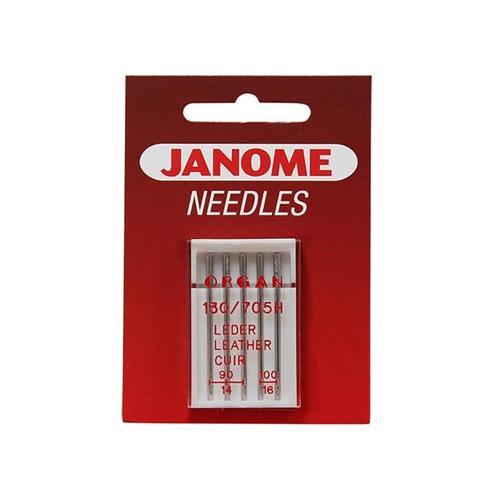 Igły do maszyn do szycia 130/705H LL do skóry Janome (różne grubości)