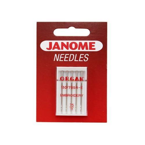Igły do haftowania 130/705H-E Janome (różne grubości)