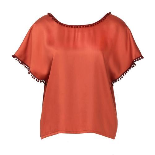 Wykrój krawiecki BURDA na bluzkę zobniżoną linią ramion i dekoltem wszpic zprzodu lub ztyłu