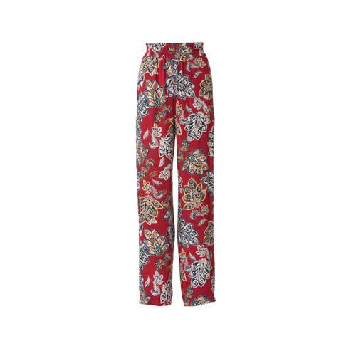 Wykrój krawiecki BURDA na spodnie zgumą wpasie ikieszeniami wszwach bocznych, zszerokimi nogawkami