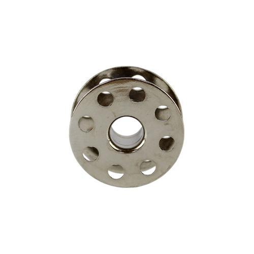 Szpulka metalowa z otworami do stebnówek przemysłowych