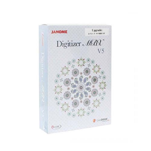 Rozszerzenie programu JANOME DIGITIZER JR do pełnej wersji MBX V5.5