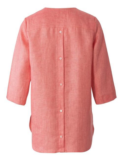 Wykrój krawiecki BURDA na bluzkę itunikę zdekoltem wszpic i zapięciem na guziki ztyłu
