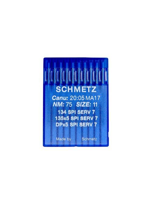 Igły Schmetz do tkanin 135x5 SPI SERV 7 (10x75)